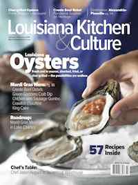 Louisiana Kitchen & Culture magazine cover
