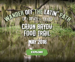 Cajun Bayou Food Trail