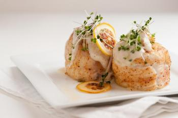 Crabmeat Stuffed Flounder with Mornay Sauce | Louisiana Kitchen ...