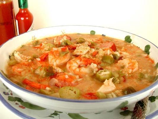 ... Kitchen Sink Gumbo Soups & Stews shrimp, ham, okra, tomatoes, crabmeat