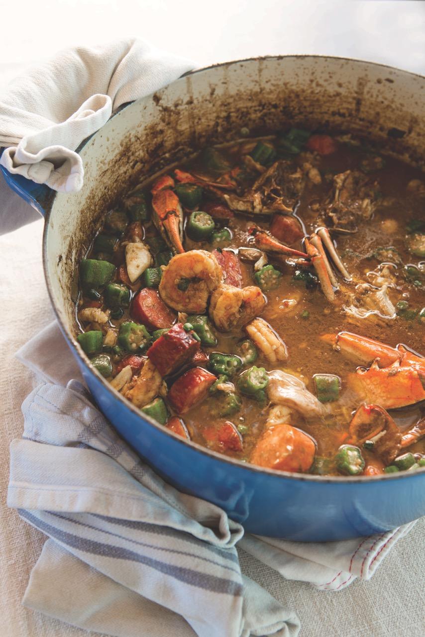 Mama's Seafood Gumbo