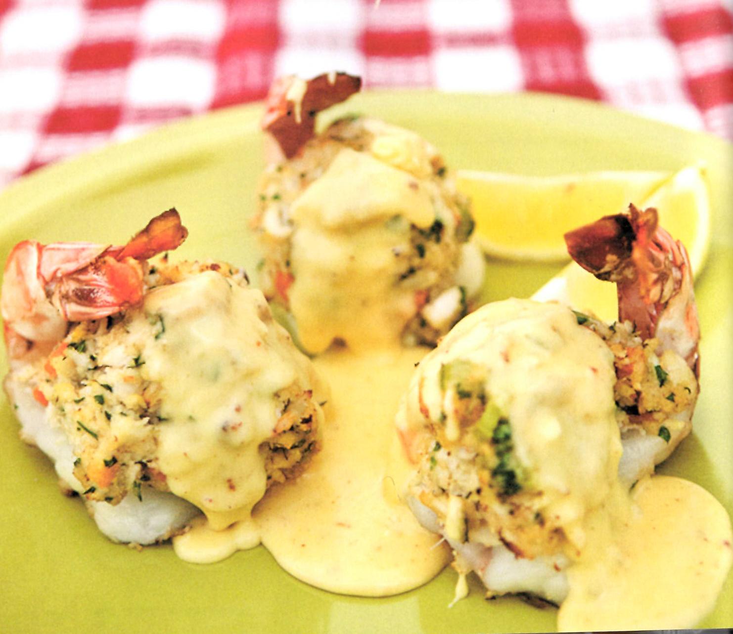 Stuffing crab cake recipe