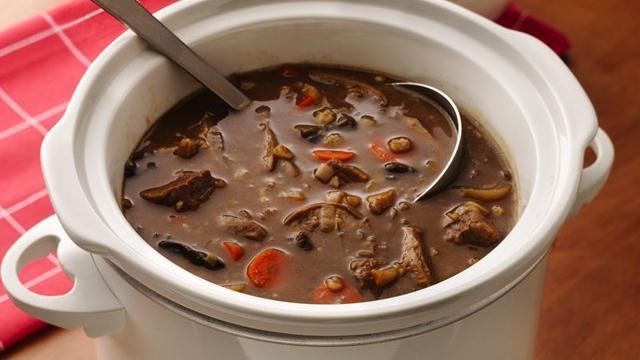 Beef Mushroom Barley Soup | Louisiana Kitchen & Culture