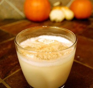Frozen Bourbon Milk Punch