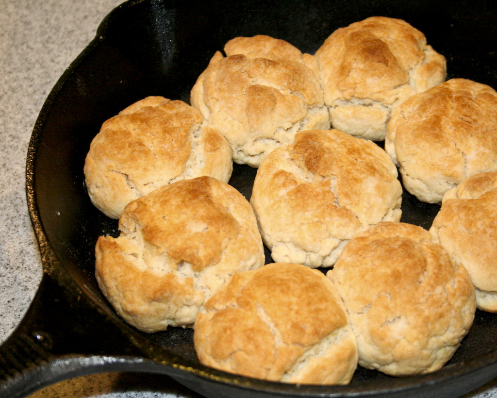 Old-Fashioned Buttermilk Drop Biscuits