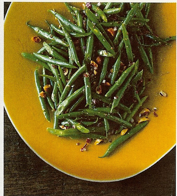 green bean and hazelnut salad salad green beans hazelnuts hazelnut oil ...