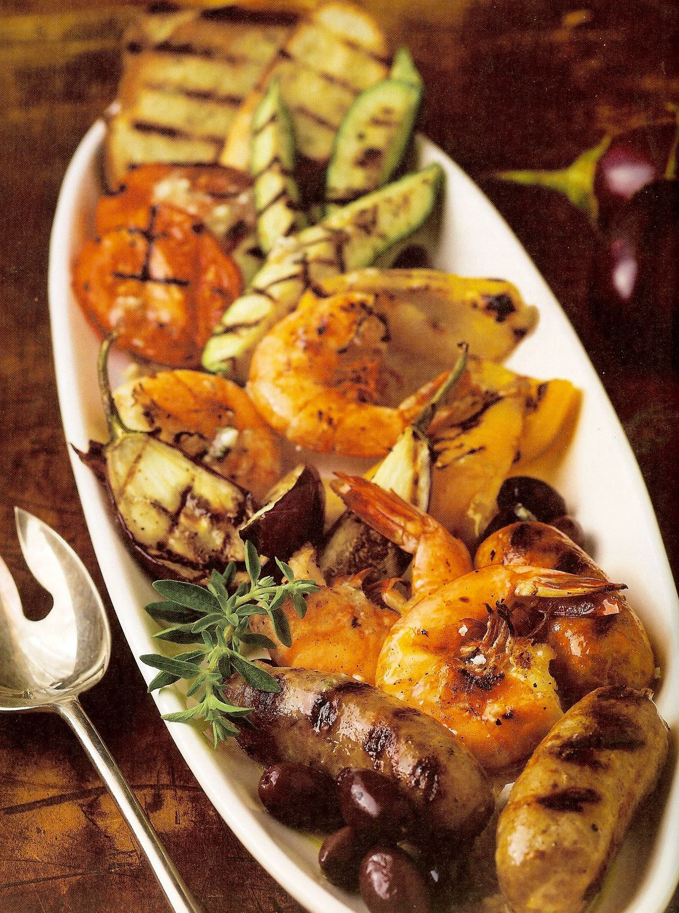 Grilled Antipasto Platter Appetizers