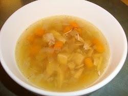 Leftover Turkey Vegetable Soup Soups & Stews turkey, stock