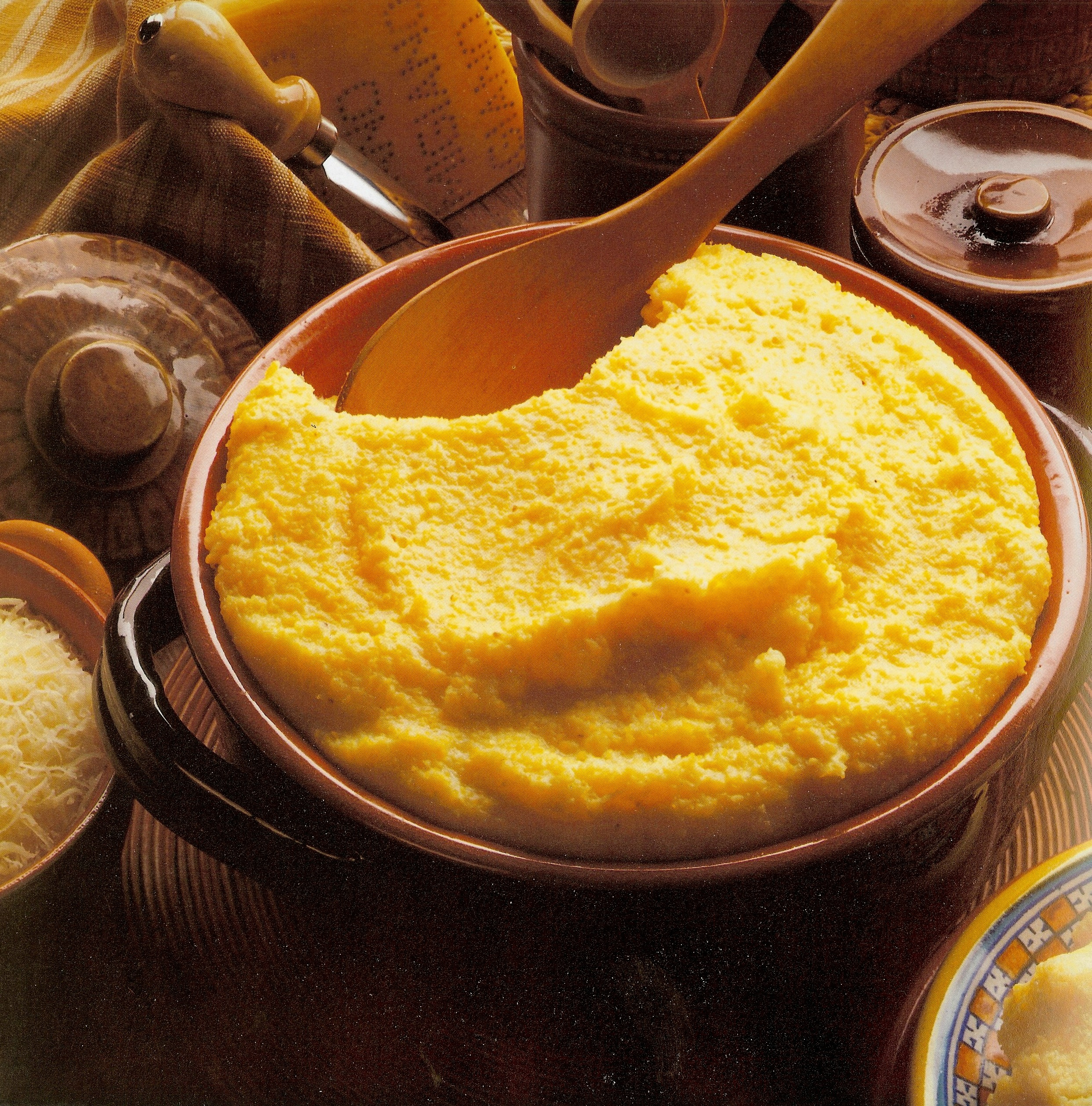 Creamy Polenta with Parmesan Cheese Breakfast/Brunch polenta ...