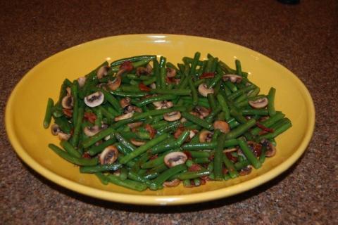 Green Bean Mushroom Casserole with Bacon | Louisiana ...
