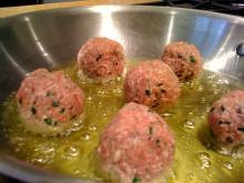 Creole Italian Meatballs