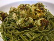 Grilled Gulf Shrimp with Pesto