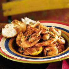 Italian Barbecue Shrimp