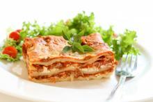 Jim's Three-Cheese Lasagna