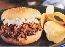 Barbecue Pulled Pork and Beef