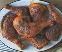 Hickory-Smoked Barbecue Chicken