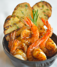 Pot O' Gold BBQ Shrimp