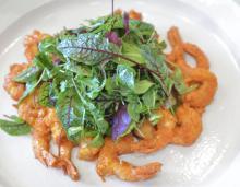 John Besh's Crunchy Shrimp Salad