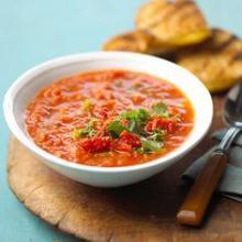 Garlic & Fresh TOmato Soup