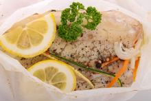 Fish or Chicken en Papillote