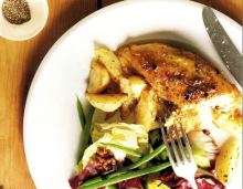 Lemon-Oregano Roast Chicken and Potatoes