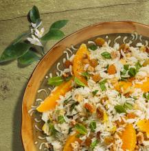 Orange and Mini Rice Salad