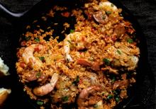 Seafood and Chicken Jambalaya