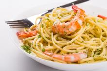 Chef Paul's Shrimp and Oyster Pasta
