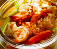 Besh Pickled Shrimp