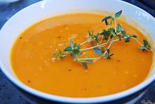 Cream of Potato and Butternut Squash Soup