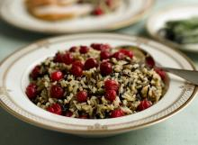 Cranberries With Wild & Brown Rice