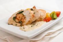 Crawfish-Stuffed Bayou Chicken