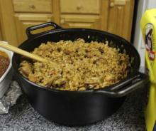 John Folse's Chicken and Sausage Jambalaya