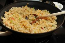 Teriyaki Ginger Sesame Fried Rice