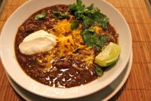 Tailgate Chili With Rotels, Kidney Beans, Ground Beef