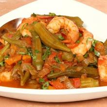 Gulf Shrimp and Okra Gumbo