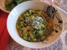 Fricassee of Peas and Lima Beans