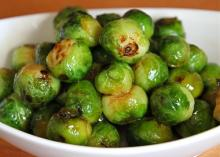 Brussels Sprouts With Marmalade Glaze