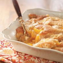 Louisiana Peach Cobbler