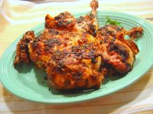 Fiery Glazed Chicken