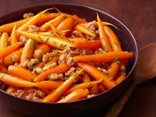 Roasted Carrots With Sage And Walnuts