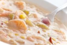 Louisiana Shrimp and Corn Chowder