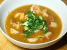Shrimp And Potato Soup