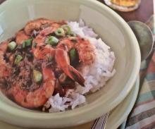 Smokey Seafood Etoufee