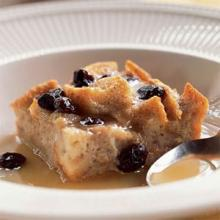 Bread Pudding with Rum Sauce