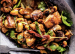 Sesame Chicken with Dates and Cashews
