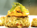 Tropically-Topped Crab Cakes