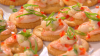 Shrimp Salad on Crackers