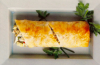 Crab, Pear, and Cheese Strudel