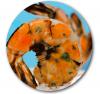 Self basting grilled shrimp